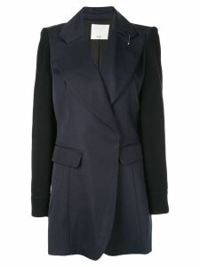 Tibi peaked lapel blazer - Black