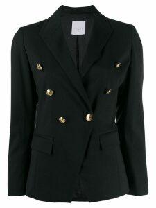 Gaelle Bonheur double-breasted blazer - Black