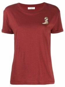 Sandro Paris embroidered T-shirt