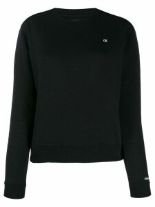 Calvin Klein Jeans logo patch sweatshirt - Black