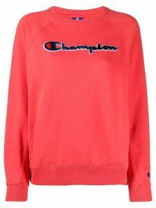 Champion signature logo sweatshirt - Red