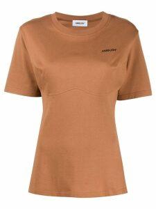 Ambush printed logo T-shirt - Brown