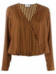 Liu Jo Crock striped blouse - Orange