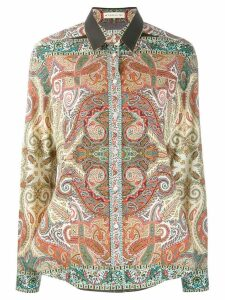 Etro paisley print shirt - Red