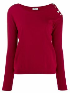 Liu Jo relax-fit jumper - Red