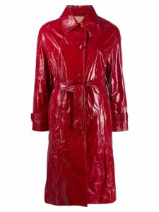 Drome textured belted coat