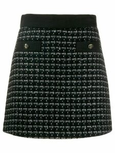 Sandro Paris tweed skirt - Blue