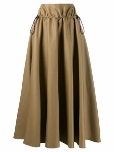 Golden Goose drawstring high-waist skirt - Neutrals