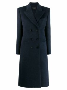 Isabel Marant double breasted fitted coat - Blue