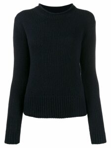 Ralph Lauren Collection long-sleeve fitted sweater - Blue