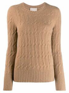 Drumohr cable-knit sweater - Neutrals