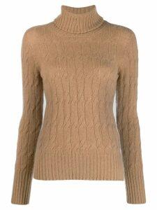 Drumohr cable-knit jumper - Neutrals