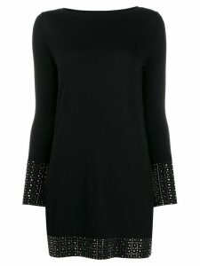 Snobby Sheep stud detail tunic top - Black