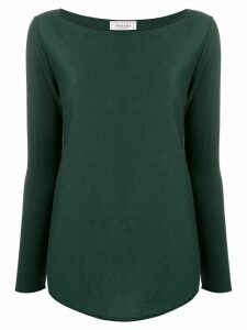 Snobby Sheep silk blend knitted top - Green