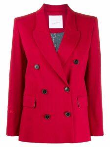 Giada Benincasa boxy fit blazer - Red