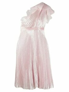 Giambattista Valli pleated one shoulder dress - Pink