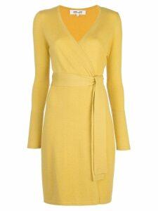 Diane von Furstenberg Linda wrap dress - Yellow