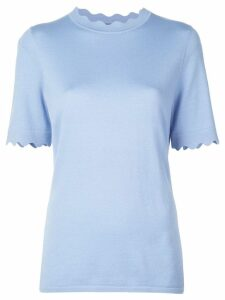 Elie Tahari Maggie knitted top - Blue