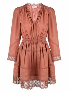 Ulla Johnson Helena lace-trimmed dress - Red