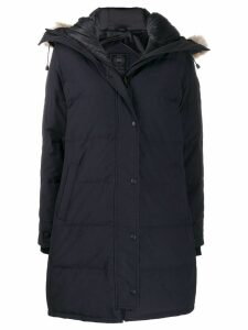 Canada Goose Shelburne hooded parka coat - Blue