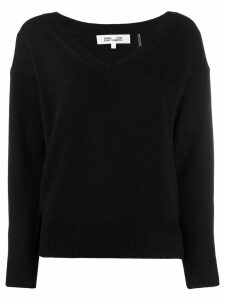 Diane von Furstenberg V-neck sweater - Black