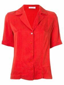 Nobody Denim Gallery short-sleeved shirt - Red