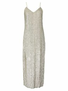 Retrofete Rebecca sequined midi dress - Gold