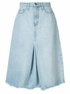 Nobody Denim Charter denim skirt - Blue
