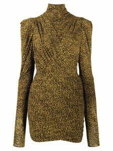 Isabel Marant Jisola fitted dress - Yellow