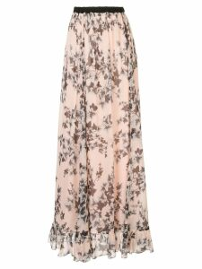 Philosophy Di Lorenzo Serafini floral print skirt - PINK