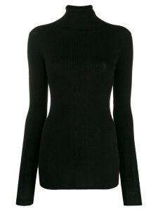 Tibi rollneck wool sweater - Black