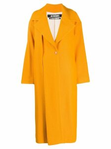 Jacquemus Le Manteau Quito maxi coat - ORANGE