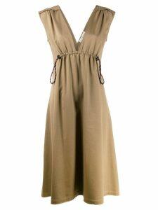 Golden Goose drawstring waist dress - Neutrals