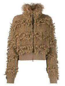 Brunello Cucinelli cropped jacket - Neutrals