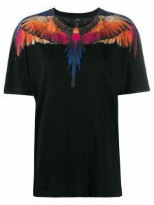 Marcelo Burlon County Of Milan Wings print T-shirt - Black