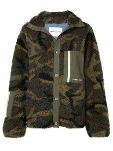 Sandy Liang Rory fleece jacket - Green