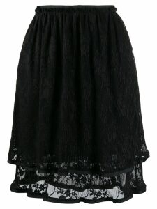 See By Chloé double layer skirt - Black