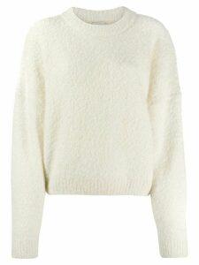 Le Kasha dropped shoulders sweater - Neutrals