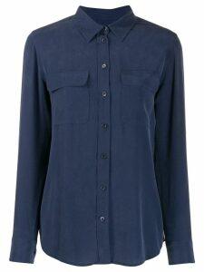 Equipment flap pockets shirt - Blue