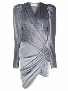 Alexandre Vauthier ruched detail dress - Grey