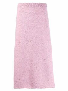 Joseph knitted A-line skirt - Pink