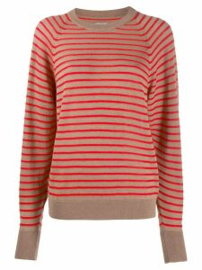 Barena striped fitted top - Neutrals