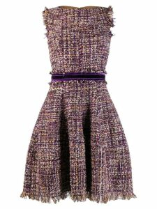 Talbot Runhof Golo dress - Purple