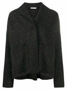 Stefano Mortari collarless jacket - Grey