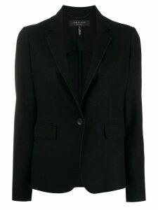 Rag & Bone curved hem blazer - Black