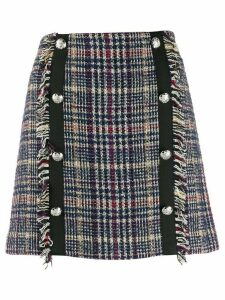 Veronica Beard Celie tweed skirt - Blue