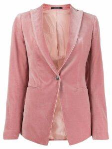 Tagliatore Gilda single-breasted blazer - Pink