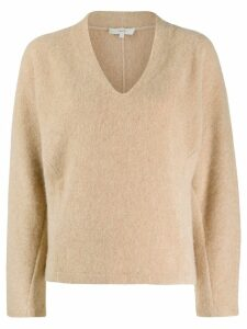 Vince v-neck jumper - Neutrals