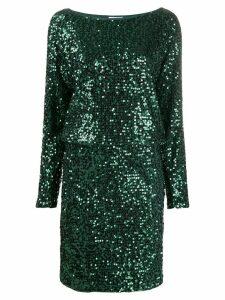 P.A.R.O.S.H. runway sequin dress - Green