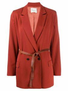 Forte Forte belted blazer - Brown